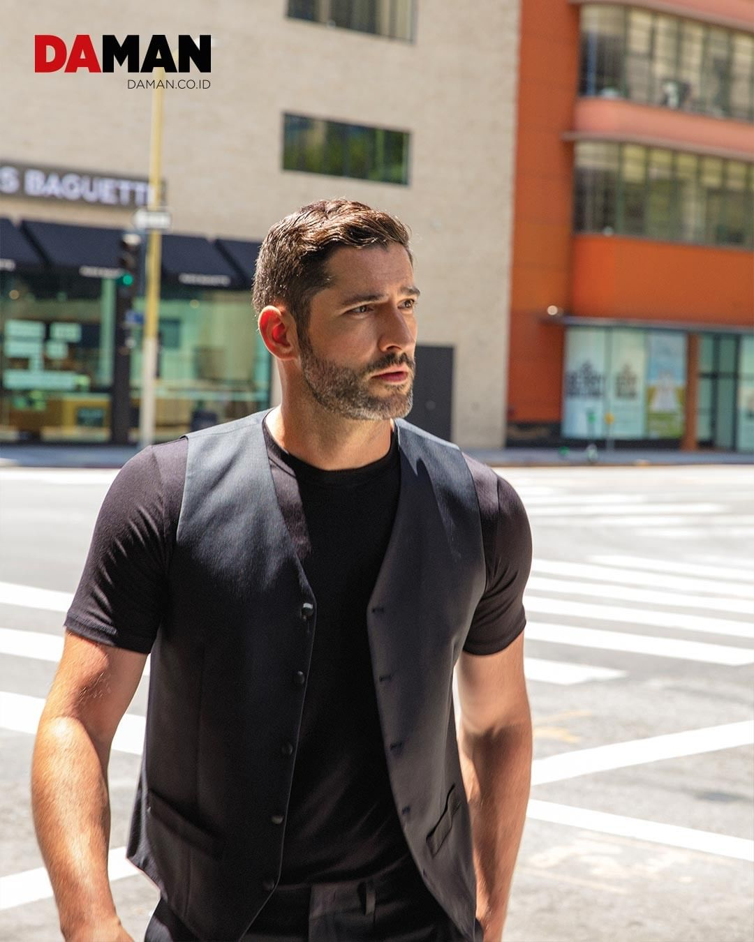 New Photoshoot Pictures Of Tom Ellis From Da Man Magazine About Tom Ellis